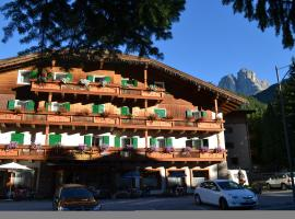 Hotel Rododendro, отель в Кампителло-ди-Фасса