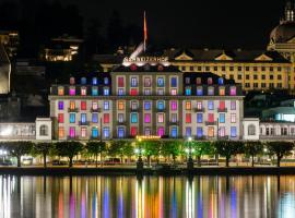 Hotel Schweizerhof Luzern, hotel in Lucerne