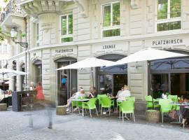 Hotel Platzhirsch, hotel near Helmhaus, Zurich