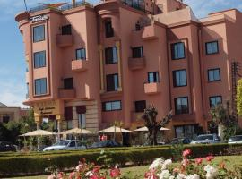 Amani Hotel Suites & Spa, hotel in zona Aeroporto di Marrakech-Menara - RAK, Marrakech