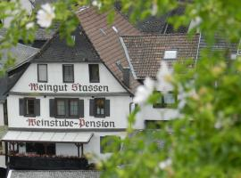 Weingut - Pension Stassen, hotel near Kandrich mountain, Oberheimbach