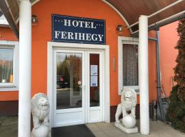 Hotel Ferihegy, hotel Budapest Liszt Ferenc Nemzetközi Repülőtér - BUD környékén