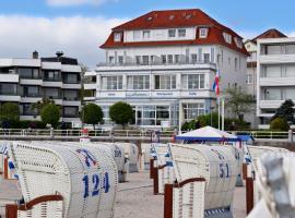 Hotel Strandschlösschen, hotell i Travemünde