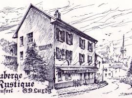Hotel Auberge Rustique, hotel in Beaufort