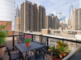 Hampton Inn Seaport Financial District, hotel in Wall Street - Financial District, New York
