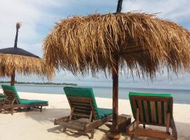 Balenta Bungalow Gili Meno, beach hotel in Gili Meno