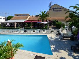 Eurotel Parc Expo Airport Montpellier, family hotel in Pérols