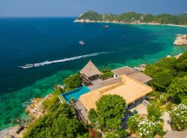 Cape Shark Villas, hotel with pools in Ko Tao