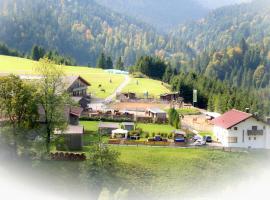 Reiterhof Berggut Gaicht, Hotel in der Nähe von: Alpkopflift, Nesselwängle