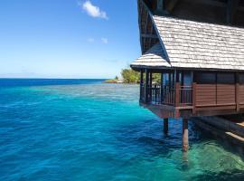 Oa Oa Lodge, hotel en Bora Bora