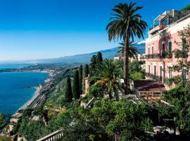 Hotel Villa Schuler, hotel en Taormina