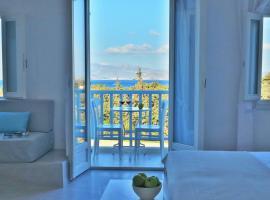 Orion Naxos Hotel, serviced apartment in Agia Anna Naxos