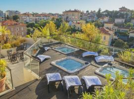 Résidence ExcelSuites, hotel with jacuzzis in Cannes