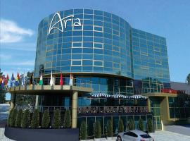 Aria Hotel Chisinau, отель в городе Кишинёв