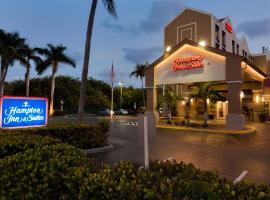 Hampton Inn & Suites Fort Lauderdale Airport, hotel in Hollywood