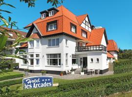 Hotel Les Arcades, hotel near The Zwin, Knokke-Heist