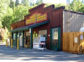 Yosemite Lakes Cabin 42, resort village in Harden Flat