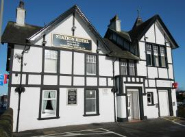 Station Hotel, hotel near Alloa Tower, Larbert