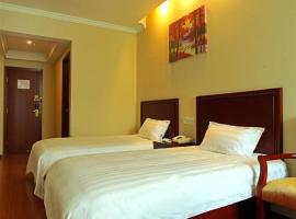 GreenTree Inn Shandong Tai'an East Railway Station Caiyuan Street Express Hotel, отель в городе Тайань