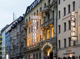 Hotel Deutsches Theater Stadtzentrum, hotel in Munich City Center, Munich