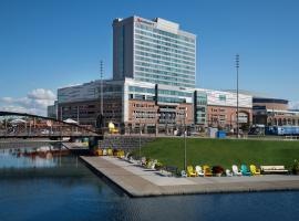 Buffalo Marriott at LECOM HARBORCENTER, hotel in Buffalo