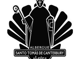 Albergue Santo Tomás de Canterbury, hostel in León