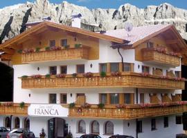 Garni Hotel Franca, hotel in Selva di Val Gardena