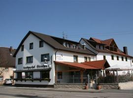 Hotel-Restaurant Werneths Landgasthof Hirschen, hotel in Rheinhausen