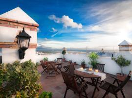 Hotel Restaurante Blanco y Verde, hotel en Conil de la Frontera