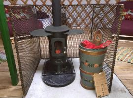 The Yurt, luxury tent in Isle of Gigha