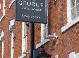 The George Townhouse, guest house in Shipston-on-Stour