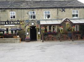 The Rose and Crown, hotel near Woodsome Hall Golf Club, Huddersfield