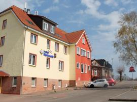 Hotel Ratscafe Ückeritz, hotel em Ückeritz