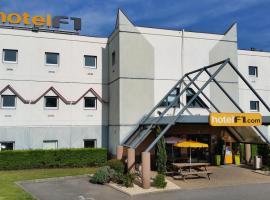 hotelF1 Lyon Isle D'Abeau Ouest St Exupery, hôtel à Saint-Quentin-Fallavier près de: Aéroport de Lyon - Saint-Exupéry - LYS