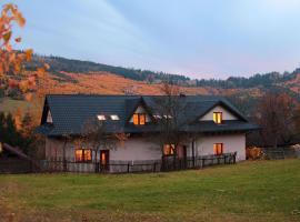 Ubytovanie Eva – hotel w pobliżu miejsca Wyciąg narciarski Mały Rachowiec w Oščadnicy