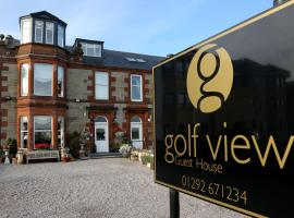 Golf View B&B, hotel in Prestwick