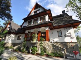 Willa Kmicic, ubytovanie bed and breakfast v Zakopanom