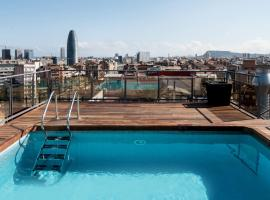 Catalonia Atenas, hotel in Barcelona