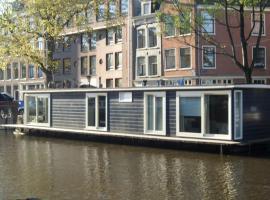 The Guest-Houseboat, bateau-hôtel à Amsterdam