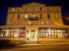 Hotel Terminus, hôtel à Saint-Gervais-les-Bains