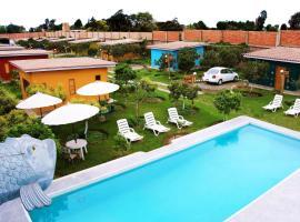 Hotel Villa Kitzia Huacho, hotel in Huacho