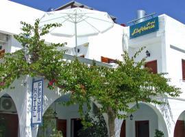 Hotel Eleftheria, hotel near Archaeological Museum of Paros, Parikia