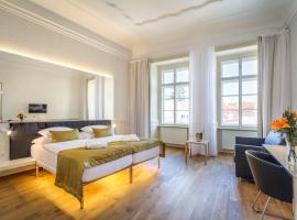 Golden Star, hotel near St. Vitus Cathedral, Prague