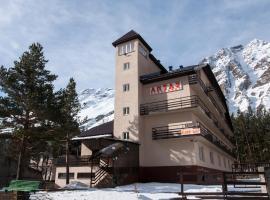 Antau, hotel with jacuzzis in Terskol
