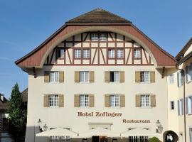 Hotel Zofingen, hotel in Zofingen