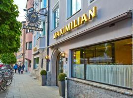 Hotel Maximilian - Stadthaus Penz, hotel near Innsbruck Airport - INN, Innsbruck
