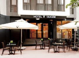 Hotel V Plus Taksim, hotel near Dolmabahce Clock Tower, Istanbul
