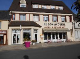 Au Bon Accueil、Juvigny-sous-Andaineのホテル