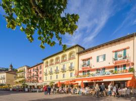 Piazza Ascona Hotel & Restaurants, отель в Асконе
