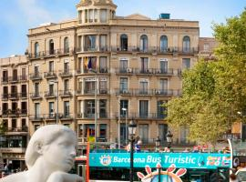 Hotel Monegal, hotel in Ramblas, Barcelona